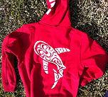 Dive Tribe's hoodie