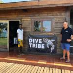 Dive Tribe diving centre in the island of São Tomé